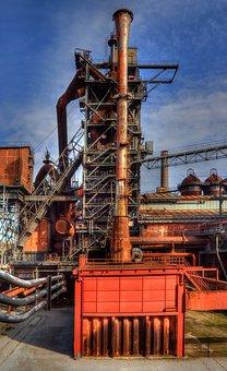 Duisburg, Landscape Park, Factory, Industry