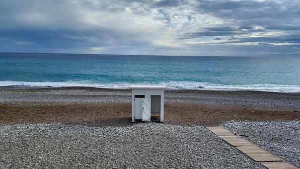 Marine, Beach, Sky, Peace, Antalya, Landscape