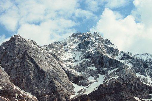 Zugspitze, Alpine, Garmisch Partenkirchen, Landscape