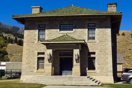 Engineer's Office Building, Mammoth, Wyoming