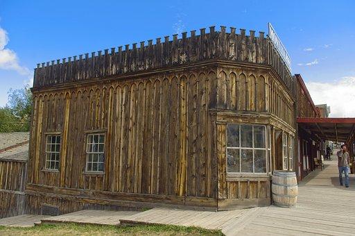 Montana Post Building, Virginia City, Montana