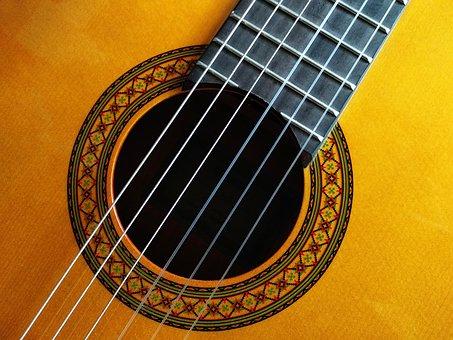 Guitar, Classical, Classic, Acoustic, Music, Musician