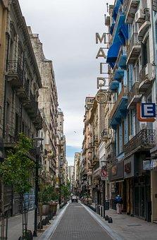City, Road, Gorge, Skyscraper, Buenos Aires, Argentina