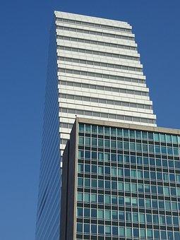 Skyscraper, Basel, Roche-tower, Architecture, Building