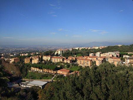 Landscape, Rome, View, City, Romano, Sky