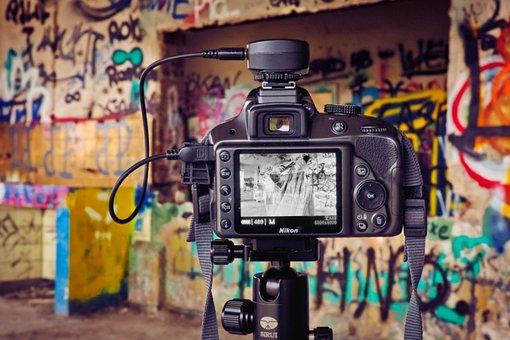 Camera, Colour, Color, Lost Place, Ruin, Architecture