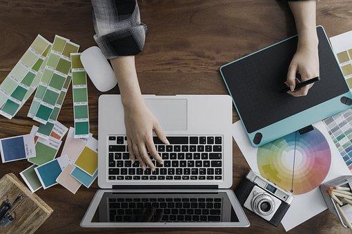 Color, Work, Space, Working, Design, Computer, Desk