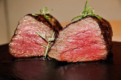 Meat, Fillet, Steak, Food, Beef, Eat, Restaurant, Meal