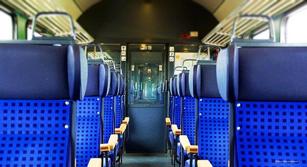 Train, Stuttgart, Vehicles, Trasse, Railway, Fog