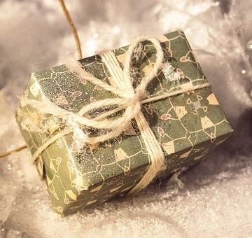 Gift, Christmas, Packed, Surprise, Celebrate, Festive