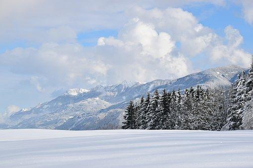 Winter, Snow, Snowy, Mountain Summit, Mountain