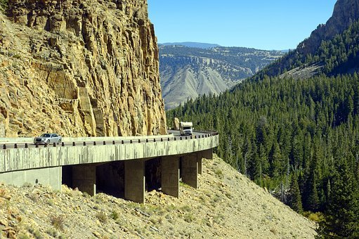 Golden Gate Canyon Road, Canyon, Highway, Yellowstone