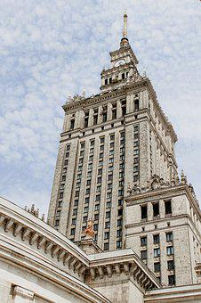 Warsaw, The Palace, Poland, Architecture, City, Cialis