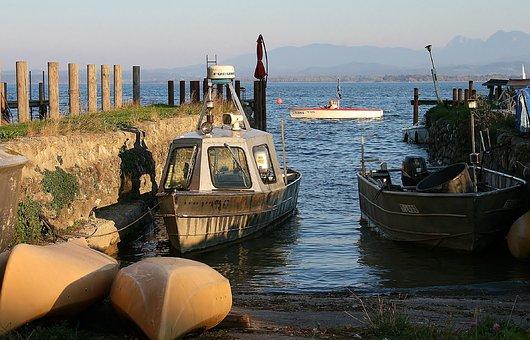 Chiemsee, Boat, Water, Lake, Boats, Bavaria, Chiemgau