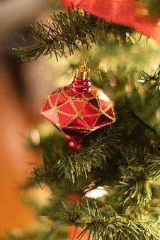 Christmas, Christmas Background, Ornaments
