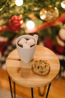 Christmas, Christmas Cookies, Hot Chocolate
