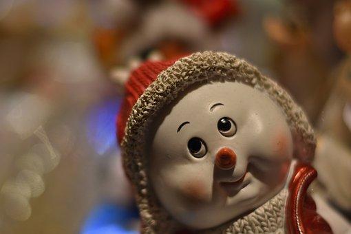 Christmas, Snowman, Christmas Decoration, Advent