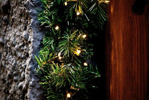 Christmas, Christmas Lights, Lights