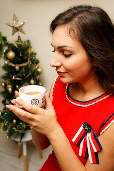 Christmas Mood, Girl, Model, Woman, Fashion, Mood