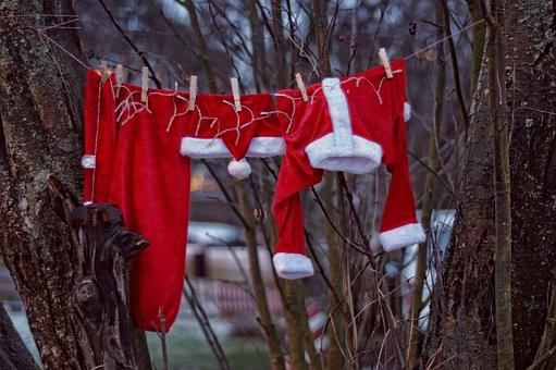 New Year's Eve, Christmas, Santa Claus, Winter, Holiday