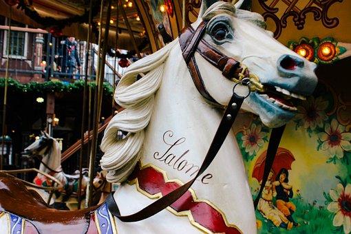 Carousel, Horse, Fun, Colorful, Ride, Circus