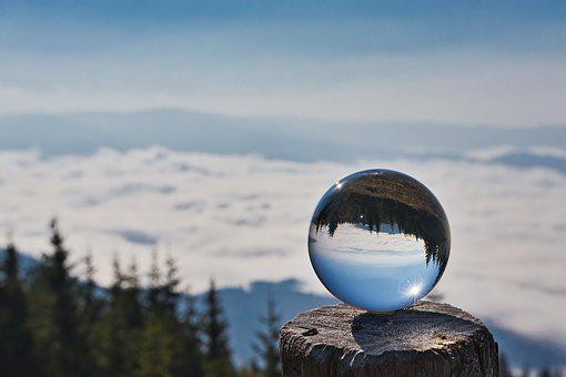 Great Disc, Glass Ball, Cloud Cover, Clouds