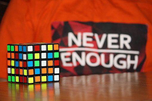 Never Enough, Never, Enough, Challenge, Rubiks Cube