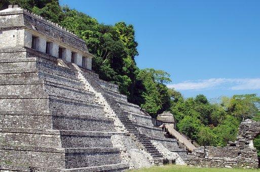 Mexico, Palenque, Maya, Ruins, Temple, Gallery