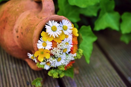 Bouquet, Flowers, Garden, Garden Decoration, Flora