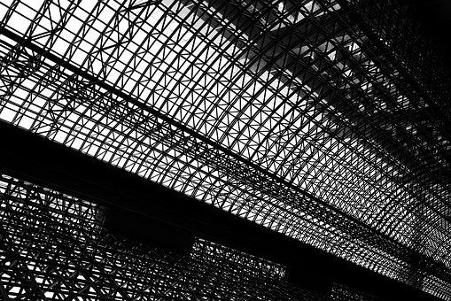Japan, Kyoto, Railway Station, Architecture