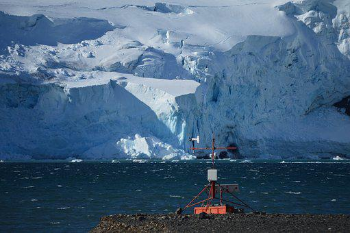 Landscape, Weather Station, Antarctica, Research