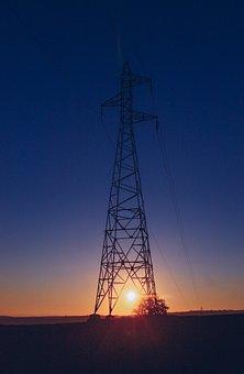 Electricity, Sunset, Eletrika, Leadership