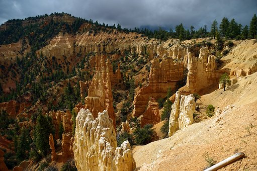 Rainbow Point Hoodoos, Bryce, Canyon, National, Park