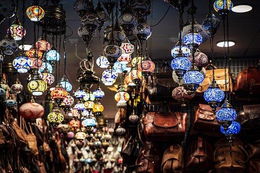 Lamps, Ornaments, Decoration, Lighting, Vintage