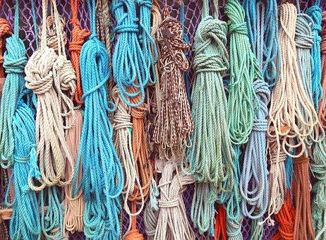 Rope, Jute, Hemp, Sisal, Cotton, Cord, Fibers, Knot
