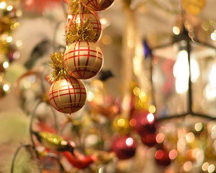 Christmas, Greeting Card, Sparkle, Atmosphere