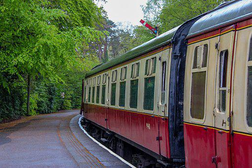 Old Train, Steam Train, Train, Old, Locomotive, Railway