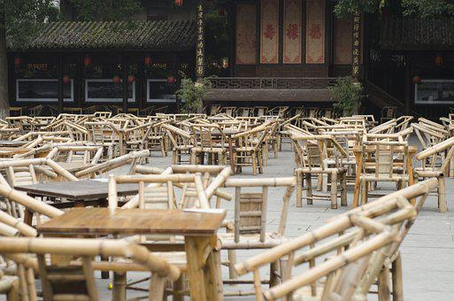 Chengdu, Teahouse, Sichuan, China, Asia, Traditional