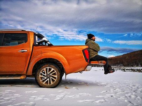 Delmece Plateau, Highland, Winter, Camp, Tent