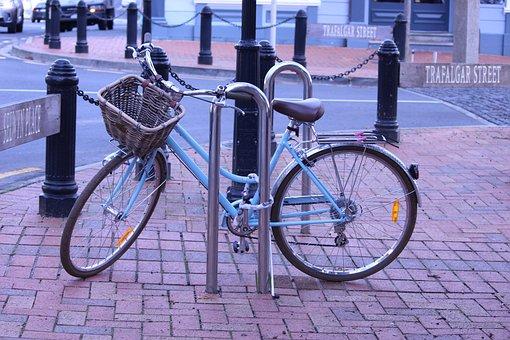 Bicycle, Shopping, Transport, Town, Bike