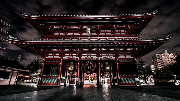 Tokyo, Asakusa, Japan, Asia, Travel, Traditional