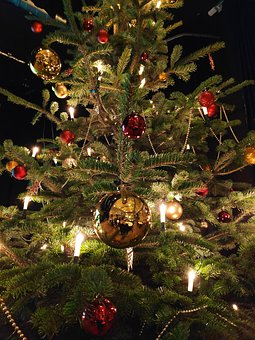 Christmas, Balls, Advent, Mood, Tree, Deco