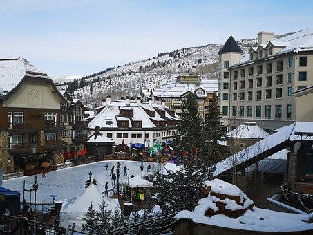 Beaver Creek, Colorado, Usa, Ski Resort