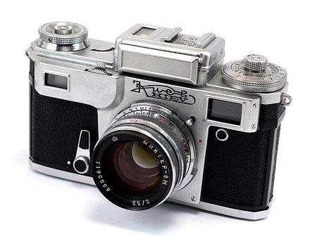 Camera, Old, Analog, Retro, Vintage, Kijev, Classic
