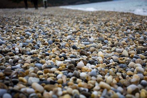 Gravel, Stone, Beach, Marine, Water, The Stones Are
