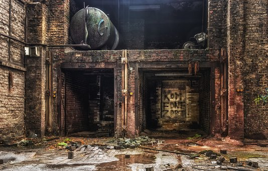 Factory, Hall, Lost Places, Abandoned Places, Pforphoto