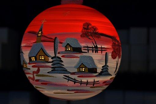 Ball, Glass Ball, Christmas, Decoration, Advent