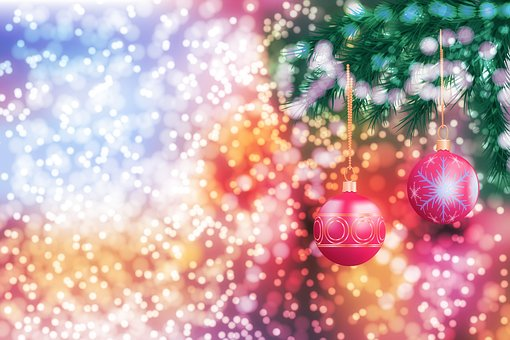 New Year's Eve, Christmas, Holiday, Background