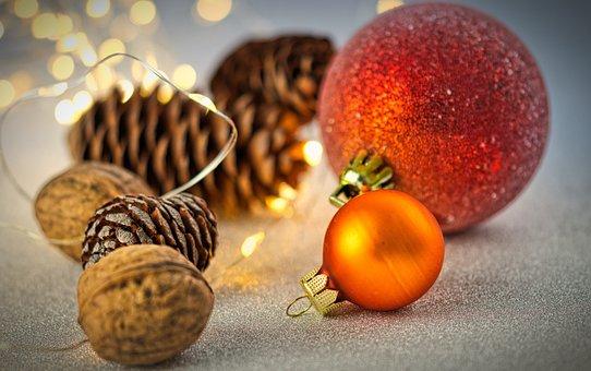 Christmas Bauble, Ball, Christmas, Christmas Card