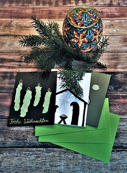 Christmas Cards, Greeting Cards, Christmas Motif